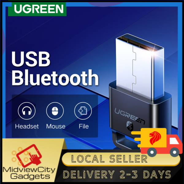 UGREEN Wireless USB Bluetooth Adapter for PC Bluetooth 4.0 Dongle Audio Receiver Bluetooth Transmitter for 10/8/XP/Vista/XBOX ONE S Handle