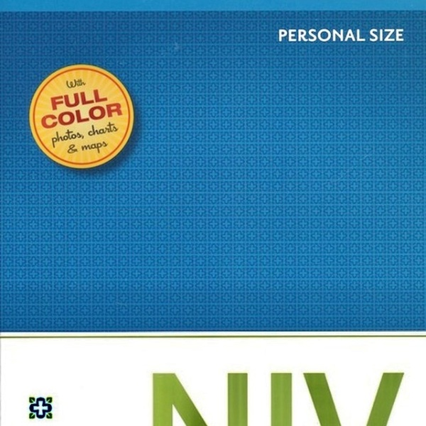 NIV Study Bible: Personal size-softcover. Colour on every page: 5242.