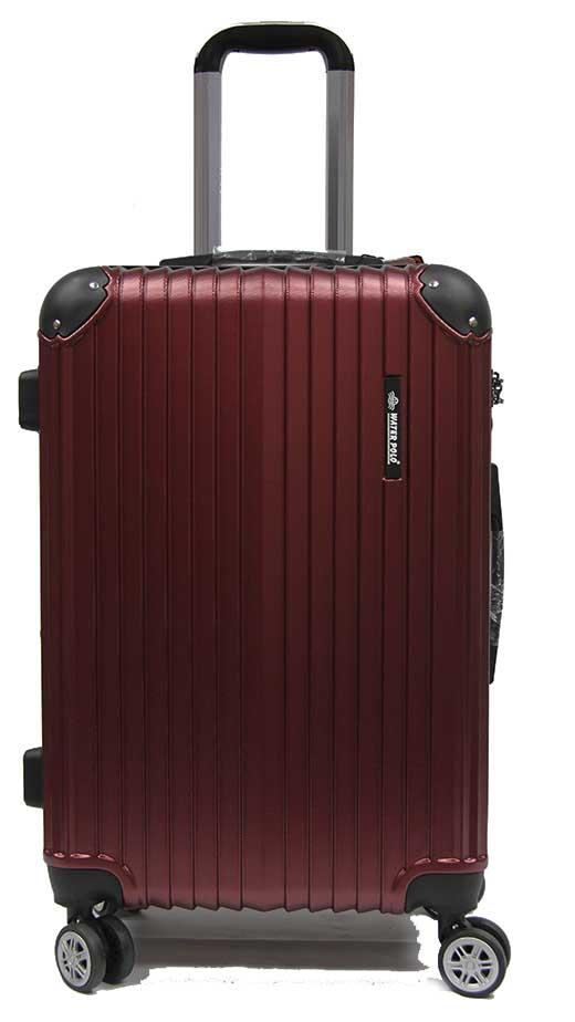 28 Inch Large Abs Expandable Anti-Theft Luggage With 8 Spinner Wheels And Tsa Lock By Luggage Outlet.
