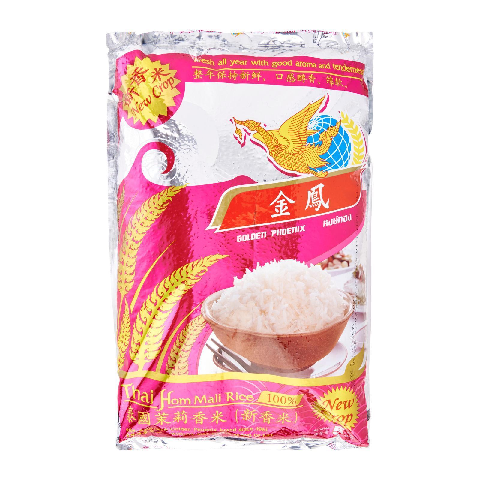 GOLDEN PHOENIX Thai Hom Mali Rice - New Crop 5kg