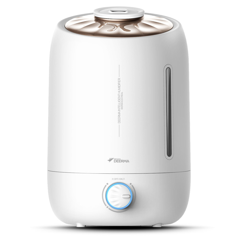 Deerma  Ultrasonic Air Humidifier 5 L Large Capcacity Aroma Diffuser  12 Months Singapore Local Warranty Free Adapter Singapore