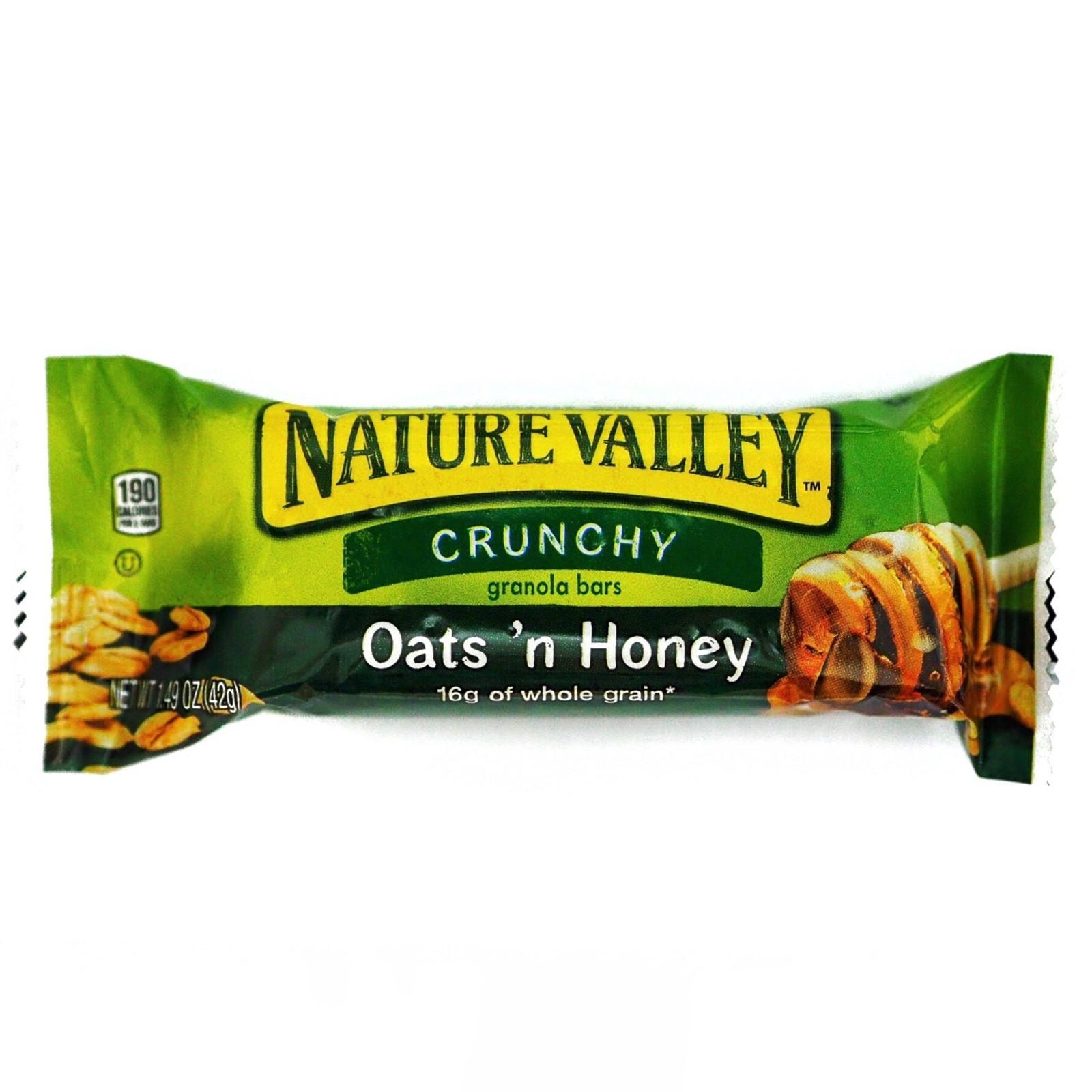 Nature Valley Oats N Honey Crunchy Granola Bars - [sample] By Redmart.