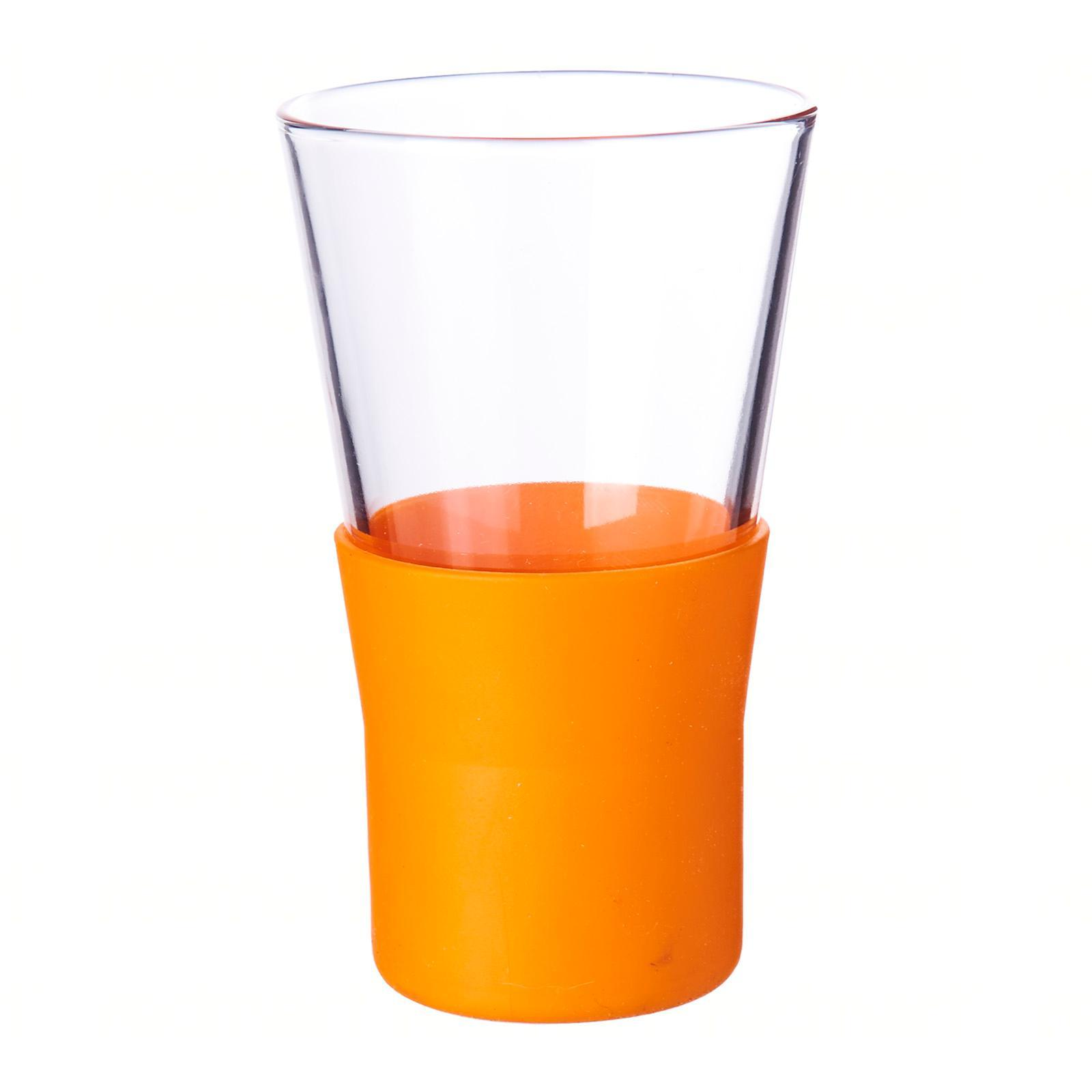 Bormioli Rocco Ypsilon Brio Orange Water Glass 40Cl