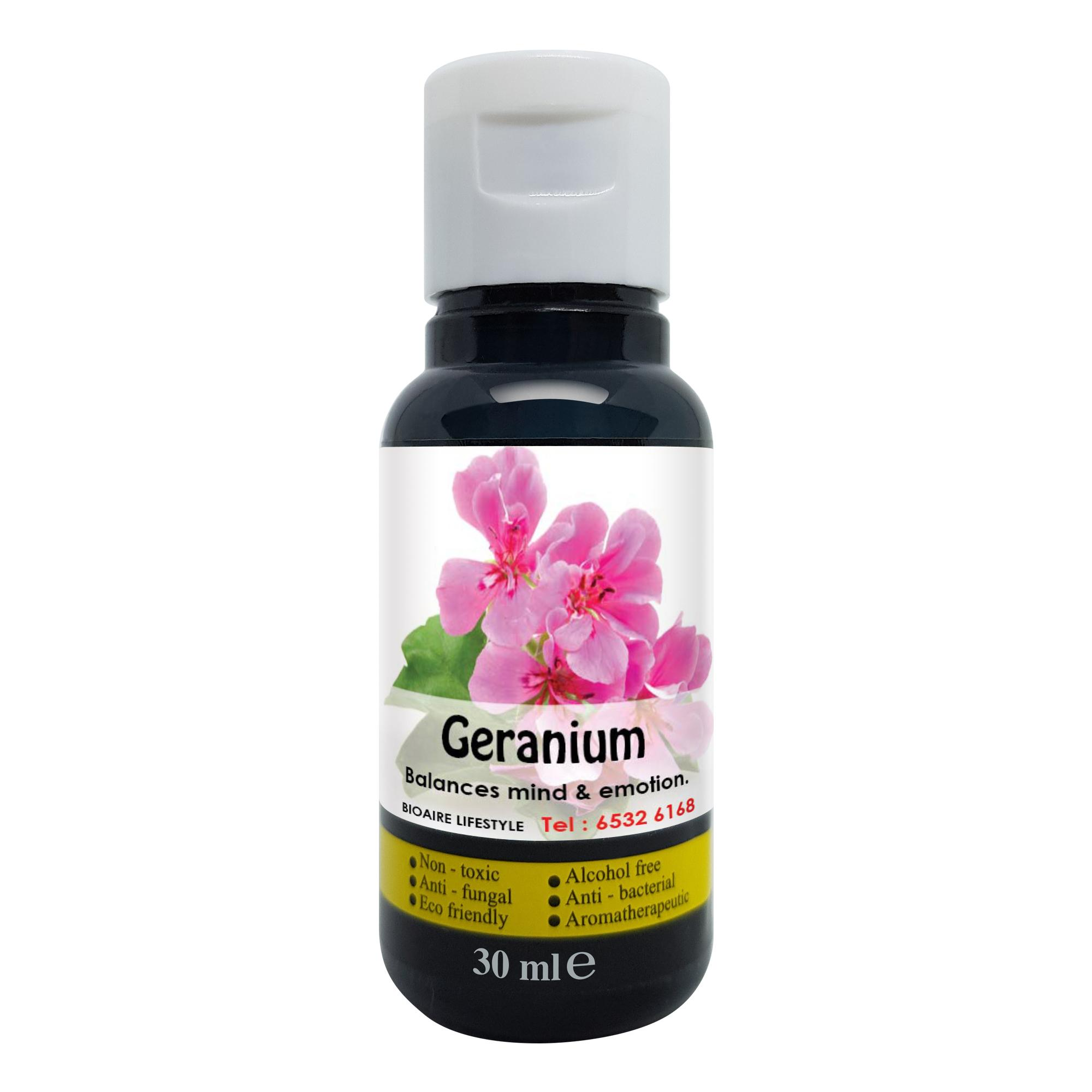 Aromatherapy Essential Oil -  Geranium 30ML