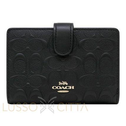 NEW ARRIVAL Coach Medium Corner Zip Wallet In Signature Leather with Coach Gift Box