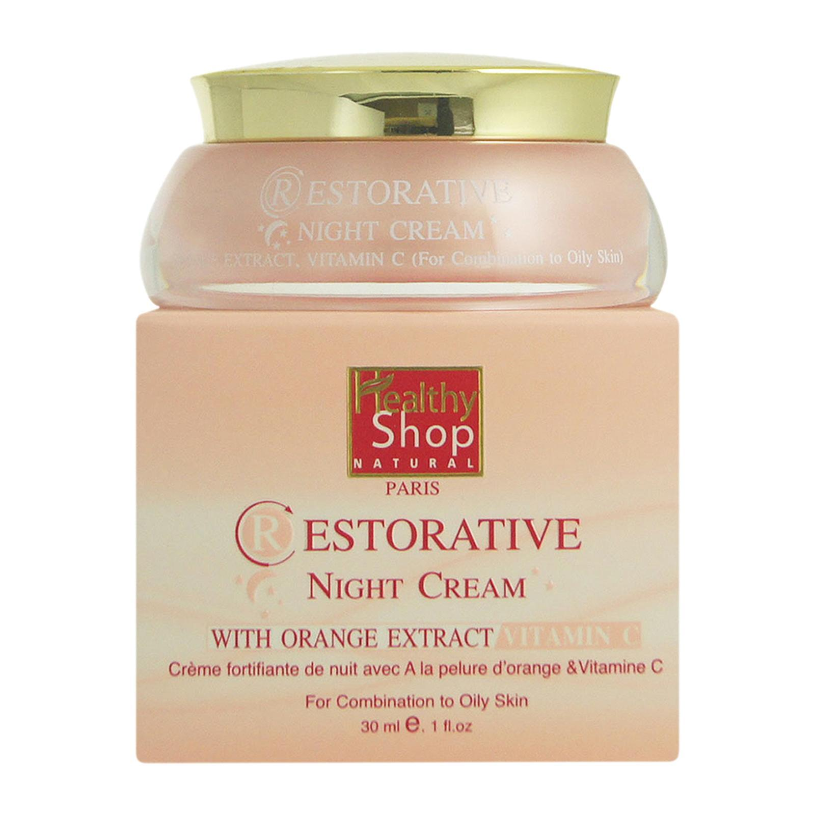 Healthy Shop 140 Restorative Night Cream With Orange Extract For Combination to Oily Skin