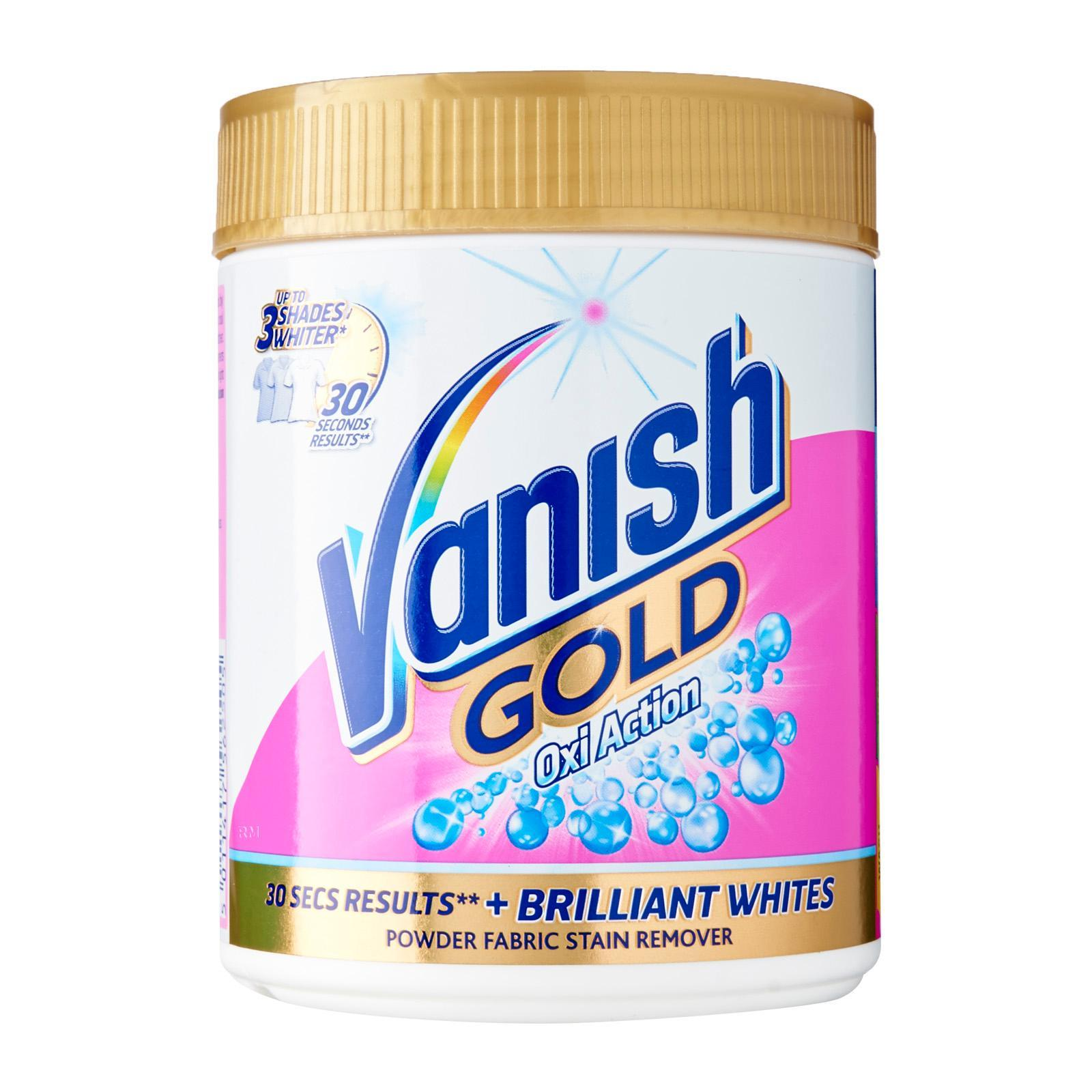 Vanish Gold Oxi Action For Whites Laundry Powder