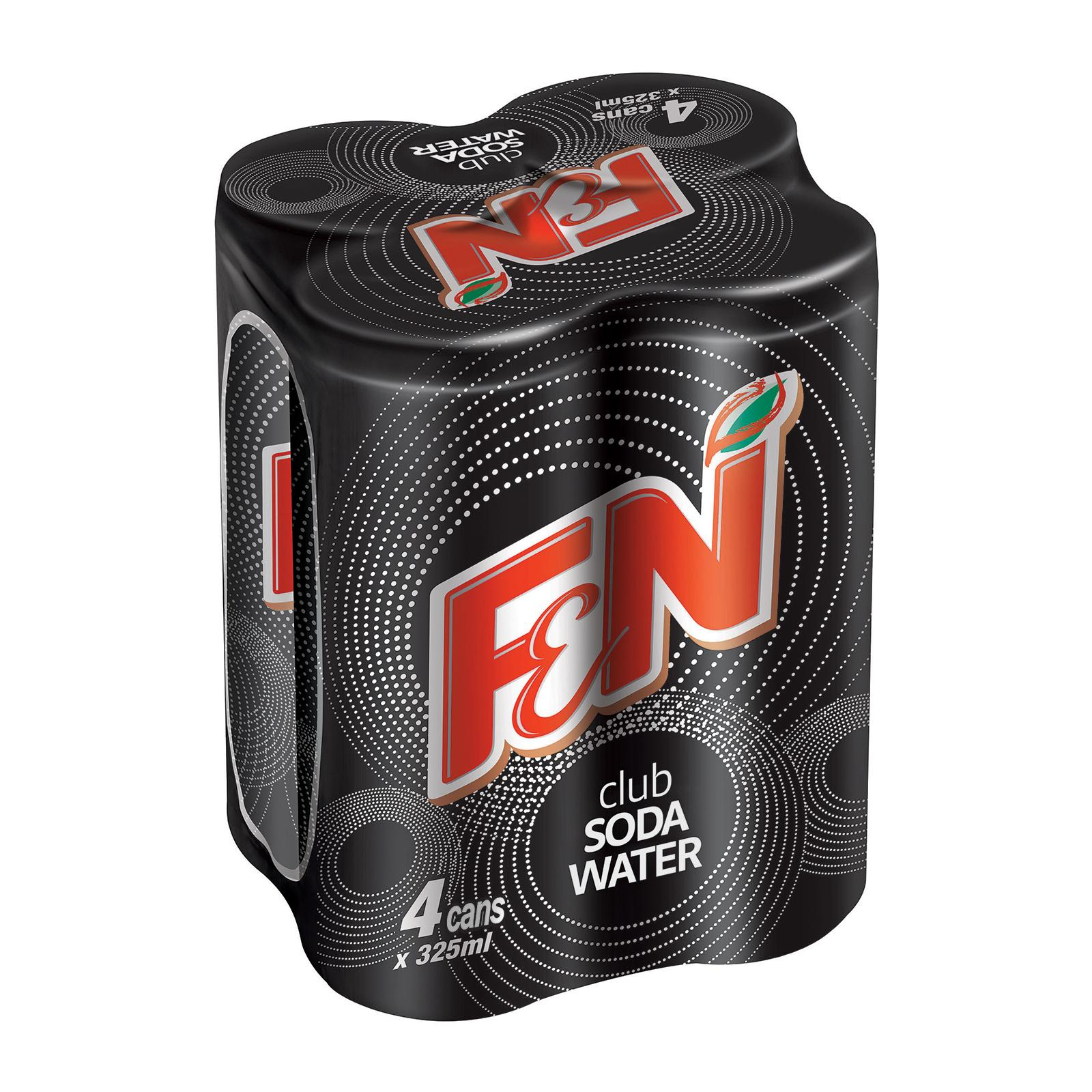 F&N Club Soda Water 4sX325ml
