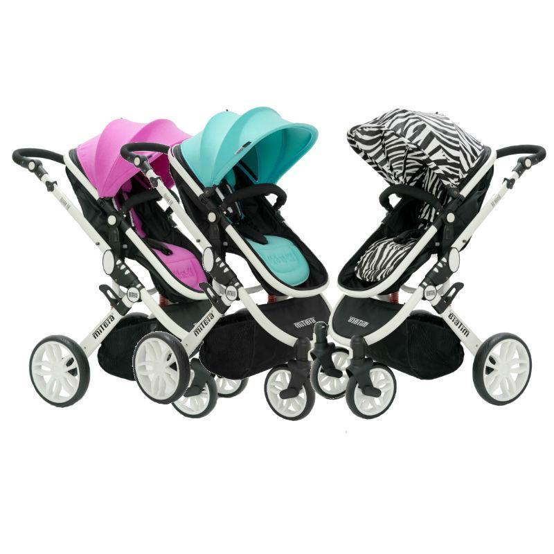 [COMBO] Baby Stroller / FREE Mosquito Net + Shaking Toys + Wet Bag + Thermochromic Spoon & Fork Set (While Stocks Last) Singapore