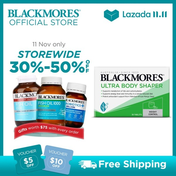 Buy Blackmores Ultra Body Shaper 30 tablets [NEW LAUNCH] Singapore