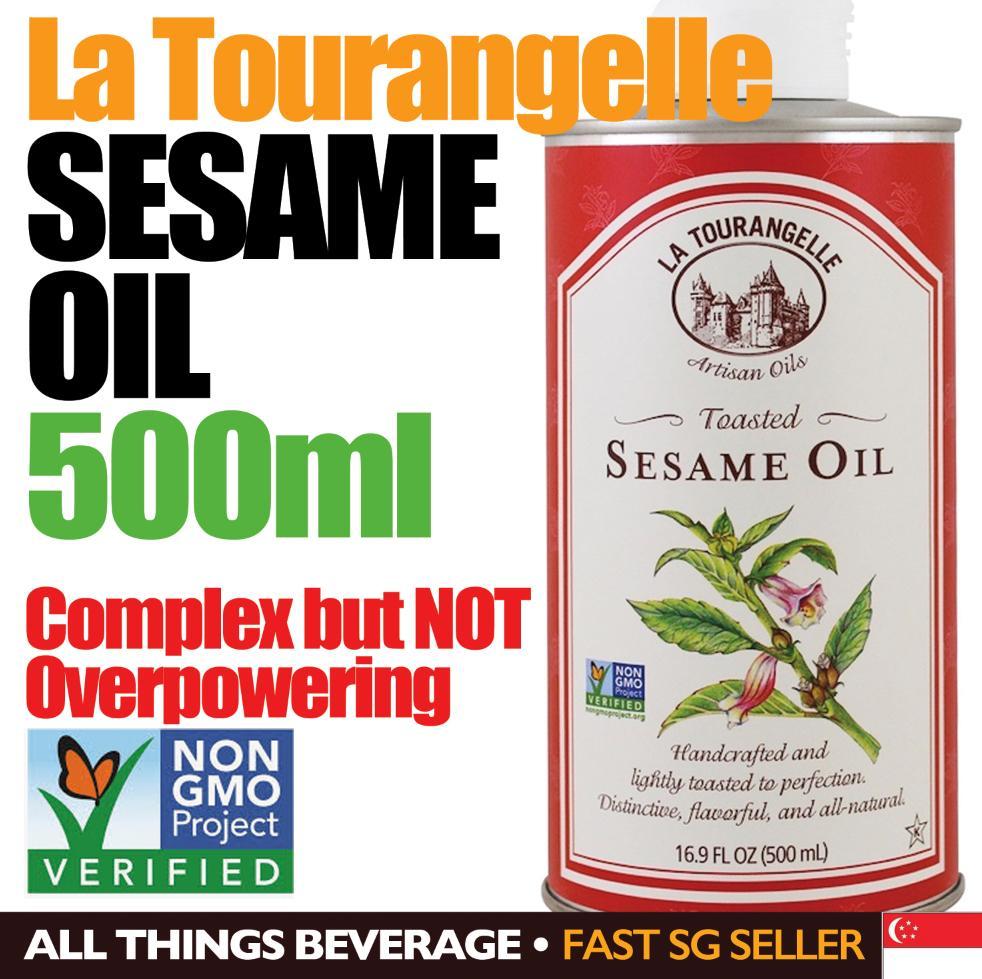 La Tourangelle Sesame Oil Non Gmo 500 Ml By All Things Beverage.