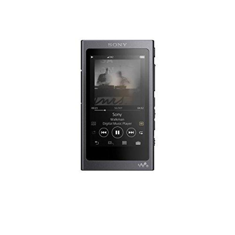 Sony NW-A45/B Walkman with Hi-Res Audio, Grayish Black Singapore