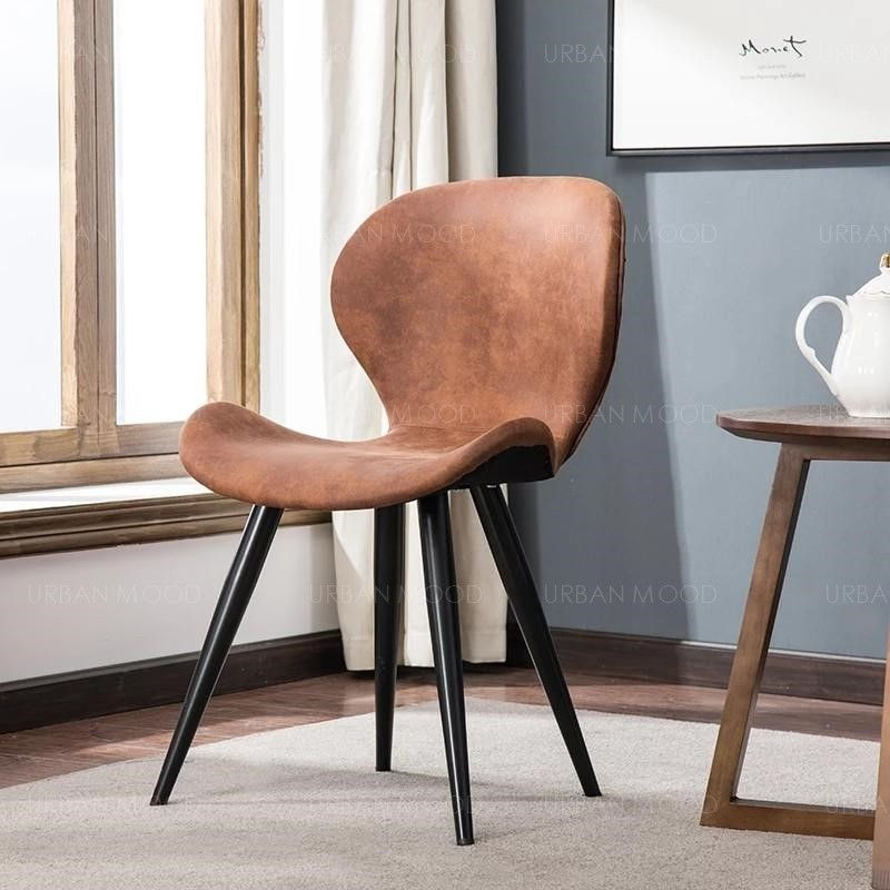 HANS Contemporary Faux Leather Dining Office Chair