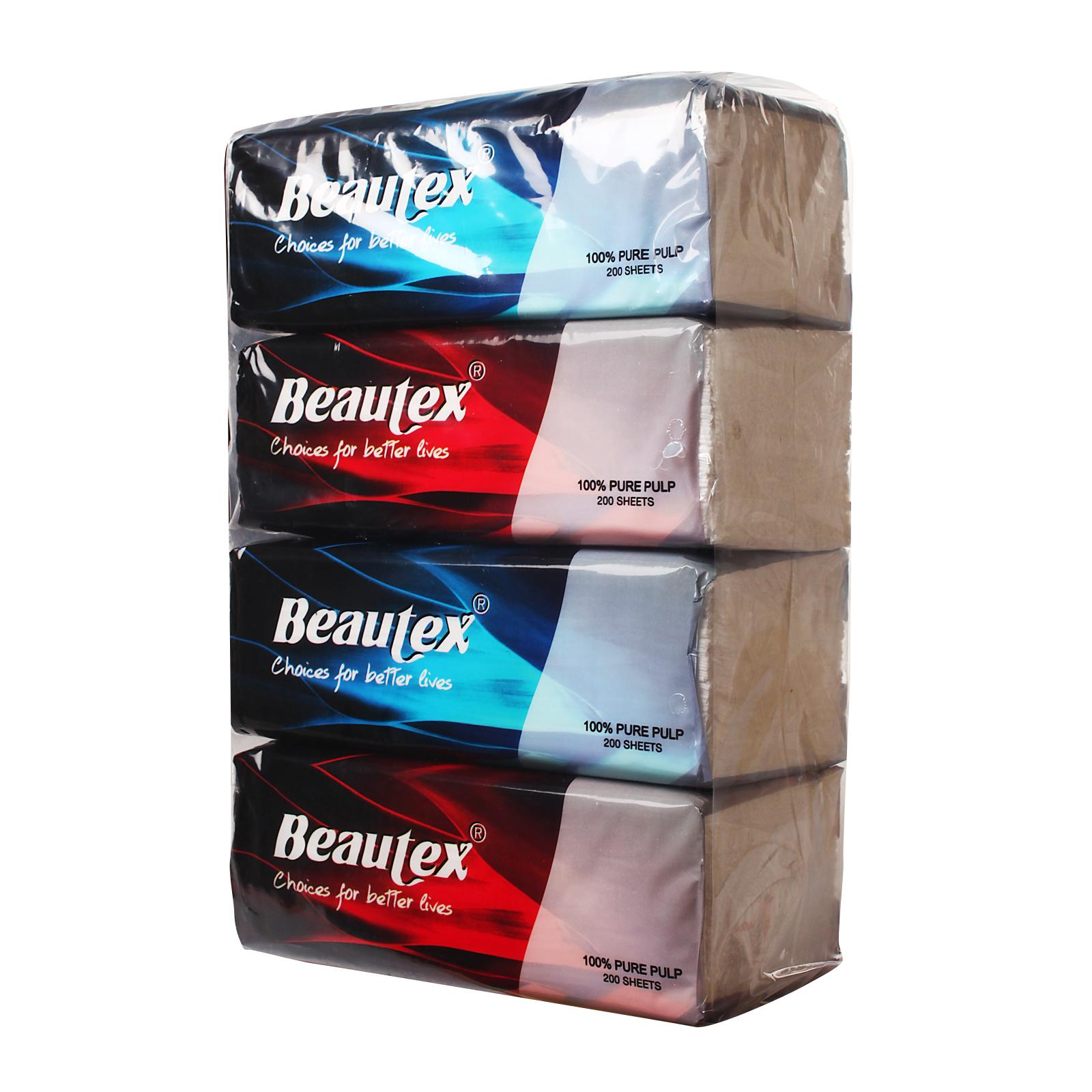 Beautex 2 Ply Soft Pack Facial Tissues