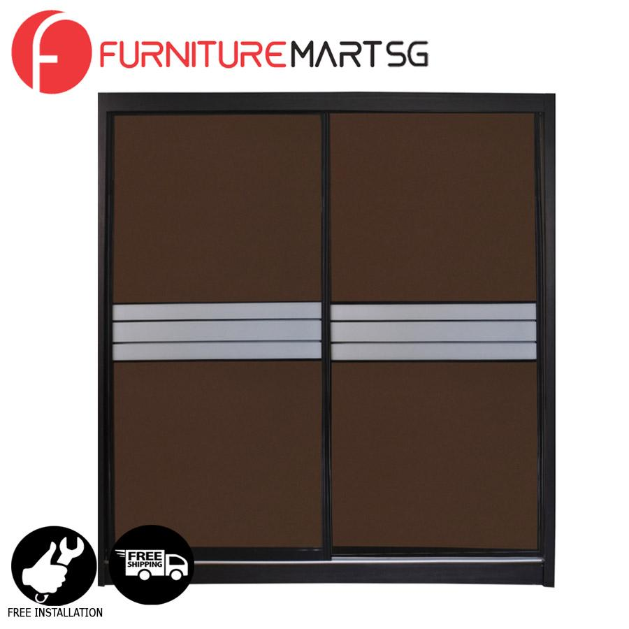 [FurnitureMartSG] Felix 5FT Sliding Wardrobe _FREE DELIVERY + FREE INSTALLATION