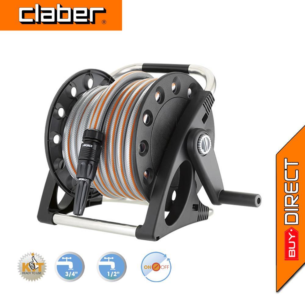 Claber Aquapony Kit Gardening Hose Reel 8884
