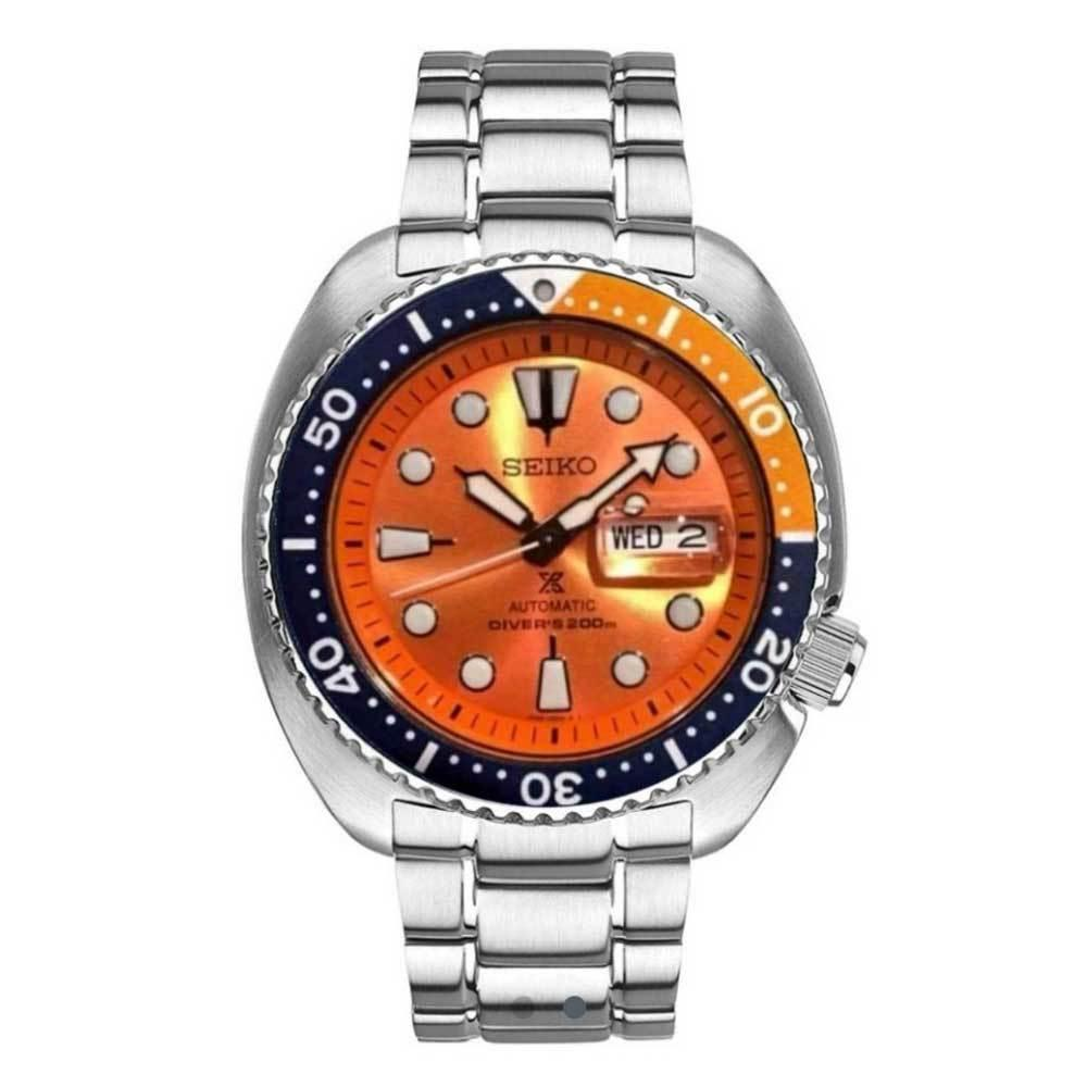 SEIKO PROSPEX TURTLE DIVER AUTOMATIC SRPC95K1 STAINLESS STEEL SILVER MENS WATCH
