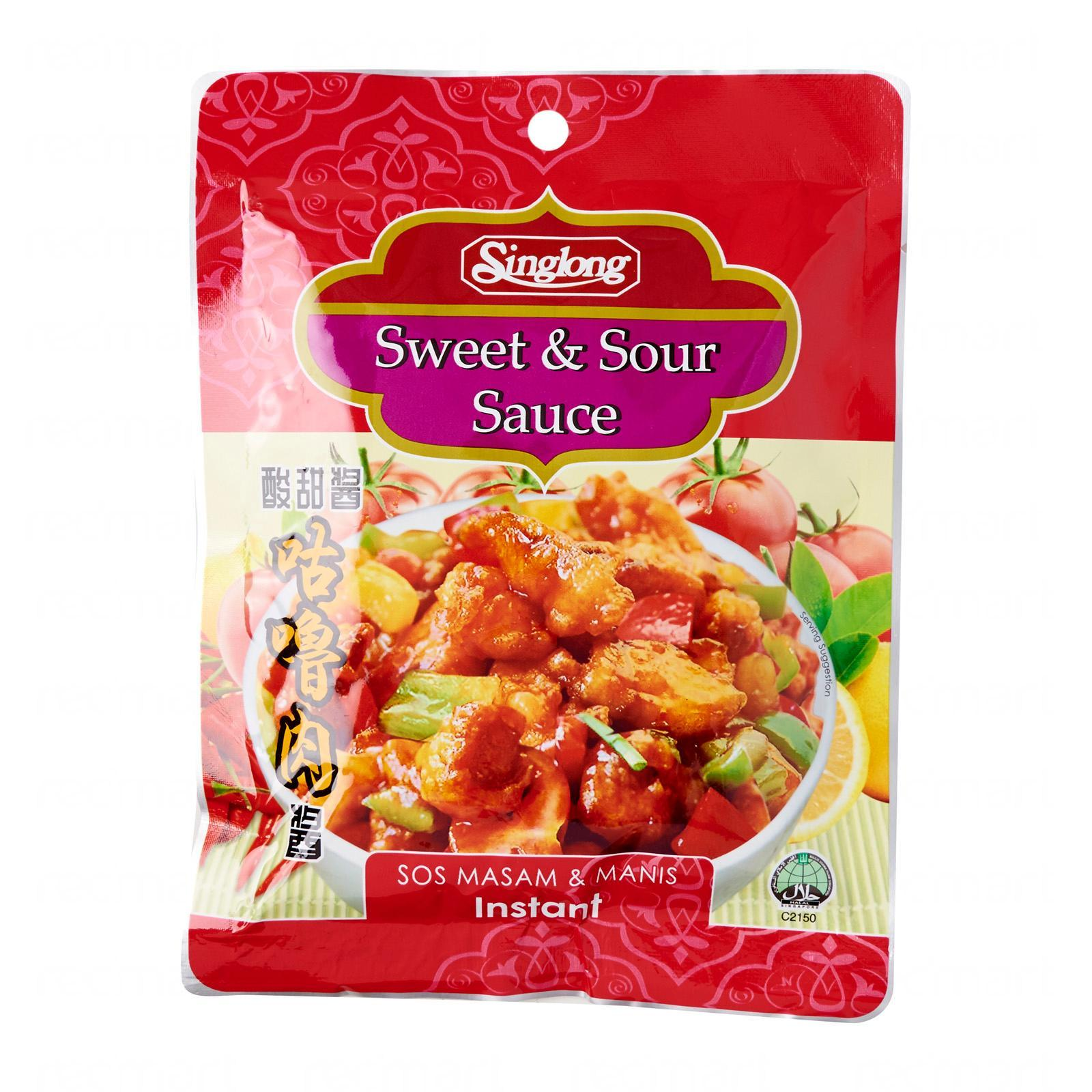Sing Long Sweet And Sour Sauce