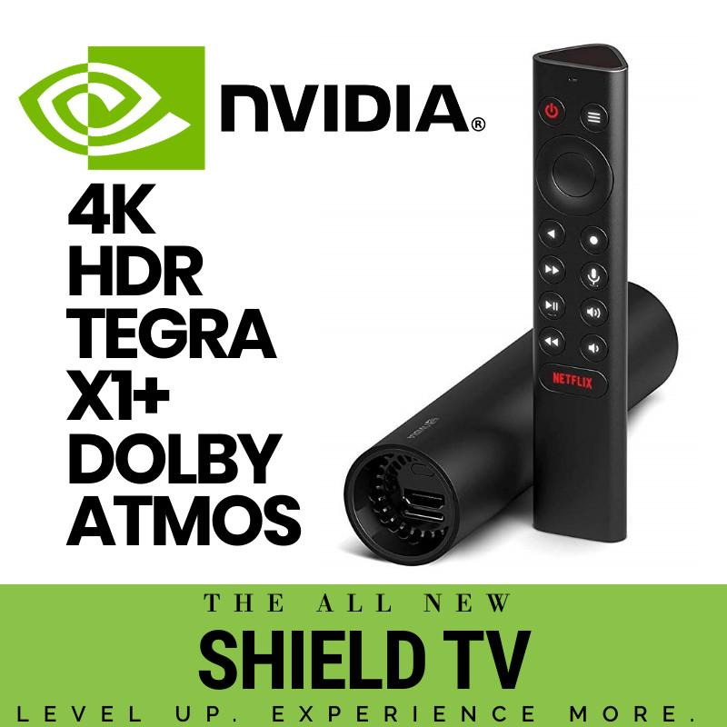 [genuine 3pin Power Adapter] Nvidia Shield Tv Streaming Media Player.