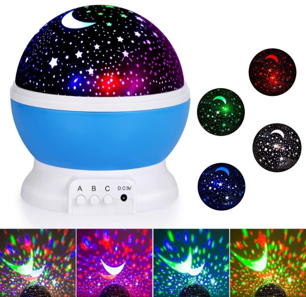 [SG Ready Stock] Star Projector Night Light - Star Sky Kids Night Light for Bedroom and Party Decorations
