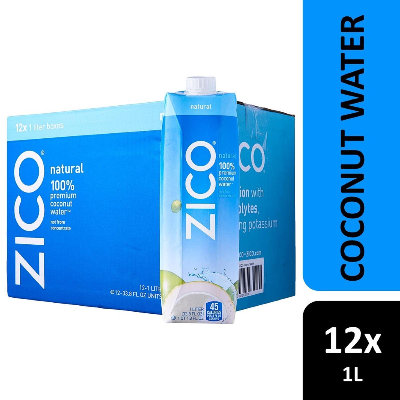 Zico Coconut Water - Case