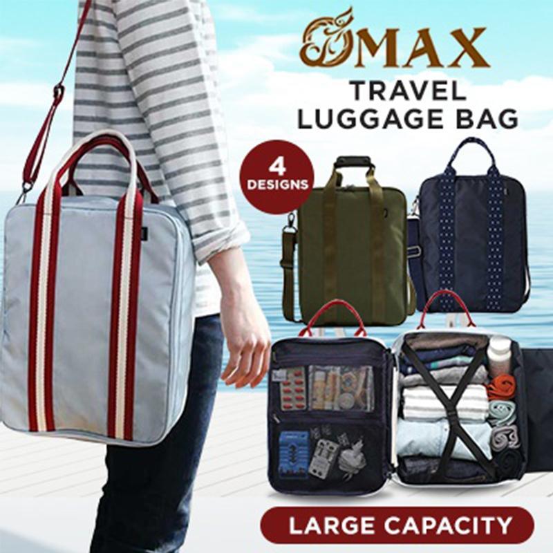 OMAX Canvas Sling Bag for Daily Basis,Travel bag large-capacity Clothing Storage Bag For Men Shoulder bag/crossbody bag