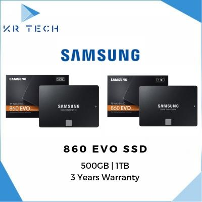 Samsung 860 EVO SATA III 2 5 inch 500GB / 1TB SSD w/Warranty