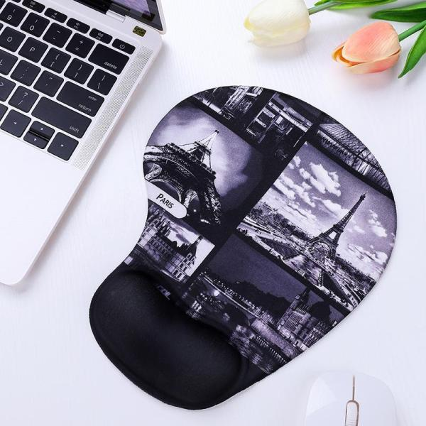 Computer Wrist Pad Holding Silica Gel Cartoon Office Home Game tong chuang yi ke Love 3D Laptop Wrist Pad Pillow Mouse Hand Small Pad BOYS and GIRLS stereo Schick Cool Thickening