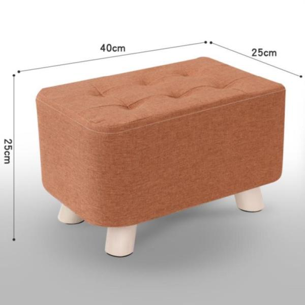 . Footstool Dressing Room Dwarf Short Stool Household Stool Chair Bay Window Economy Multi-functional can yi zi Guest