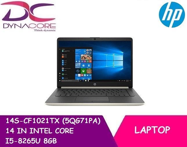DYNACORE - HP 14S CF1021TX (5QG71PA) 14 IN INTEL CORE I5-8265U 8GB 256GB PCIE SSD WIN 10