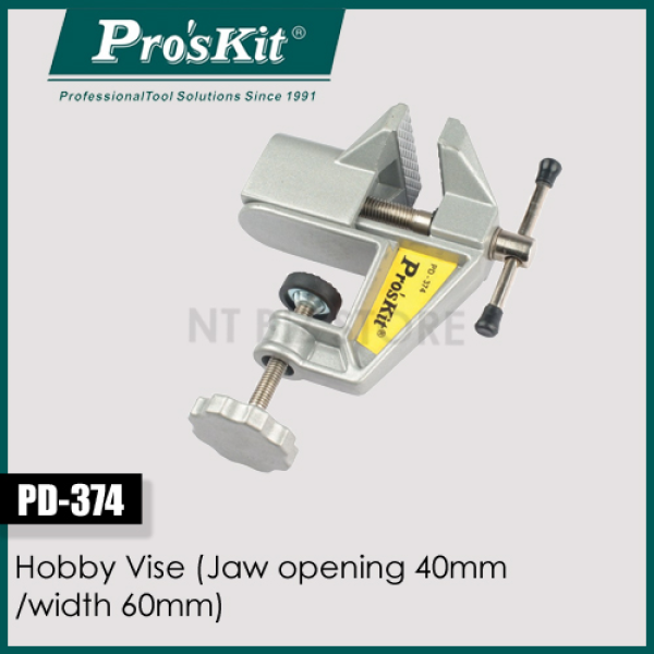 AC - Pro`sKit PD-374 Hobby Vise, Mini table Vise Multi-functional small metal vise / bench vice,table vice (Jaw opening 40mm /width 60mm) (Proskit)