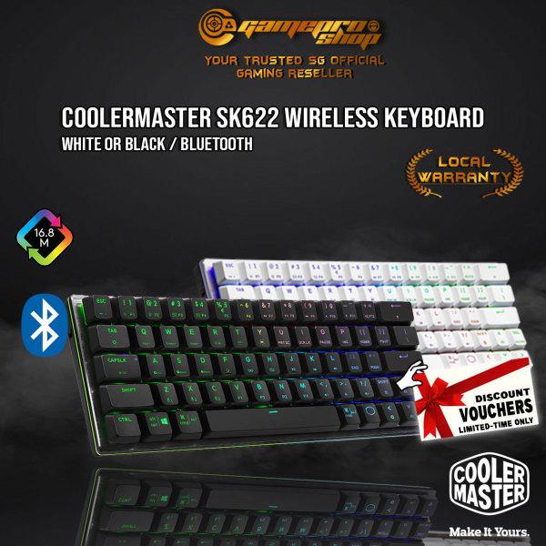 CoolerMaster SK622 RGB Low-Profile Mechanical Bluetooth Wireless 60% Gaming Keyboard (2Y) Singapore