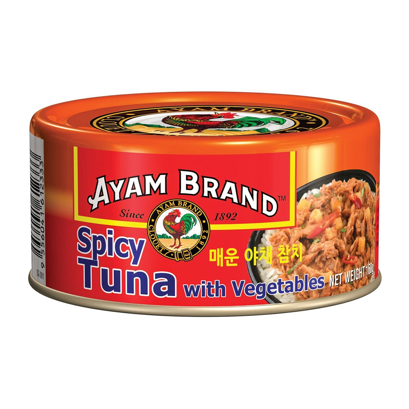 Ayam Brand Spicy Tuna with Vegetables