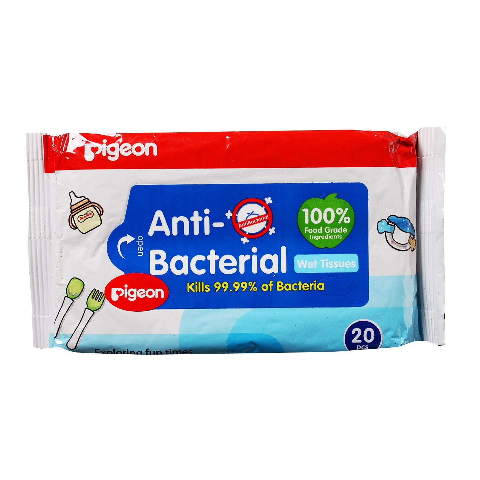 Pigeon Anti-Bacterial Wet Tissues (Packaging may vary)
