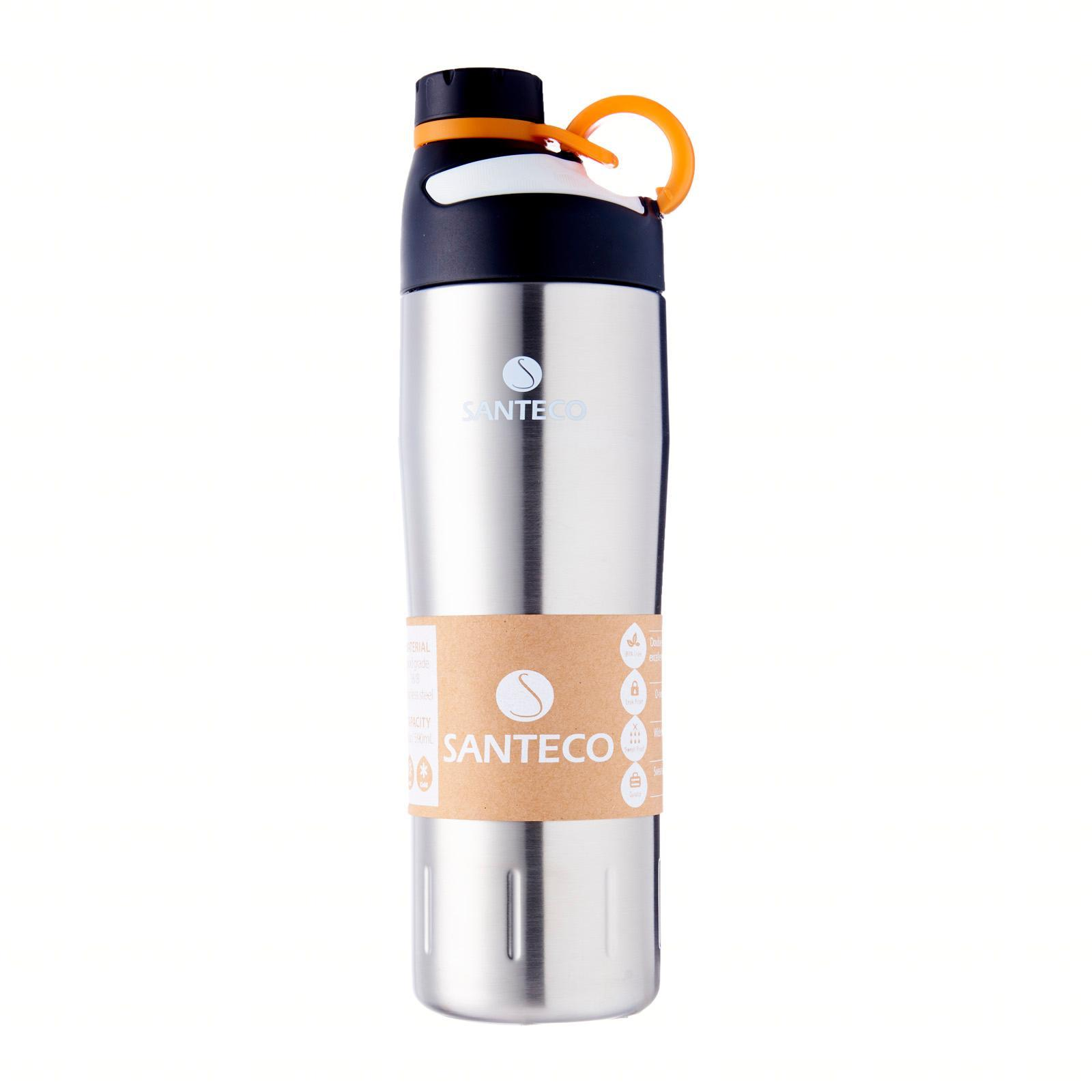 SANTECO Oural Sports Bottle Vacuum Insulated (Stainless Steel)