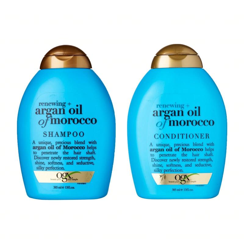 Buy OGX Renewing + Argan Oil Of Morocco Shampoo And Conditioner Set Singapore