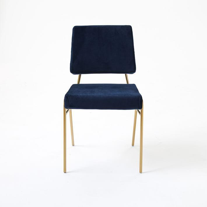 Northern Europe Leisure Chair Household Simple Dining Chair Bedroom Chair of Dress And hua zhuang yi Restaurant Living Room Metal Fabric Chair