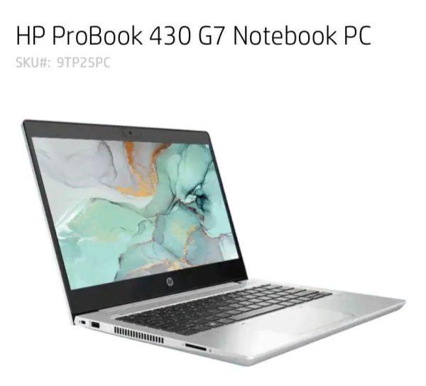 HP ProBook 430 G7 i7-10510U 8GB 512GB SSD (9TP25PC)