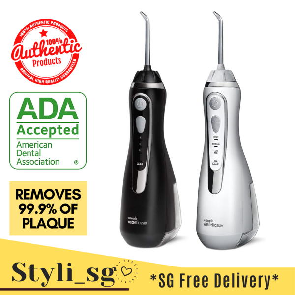 Buy 💯 Waterpik Cordless Water Flosser Rechargeable (Advanced) ADA Accepted (White) *3 Days Delivery* Singapore