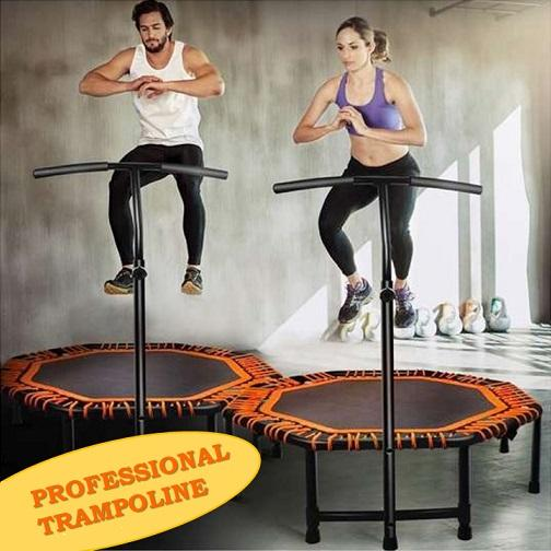 Professional Trampoline With Handle By Genconnect.