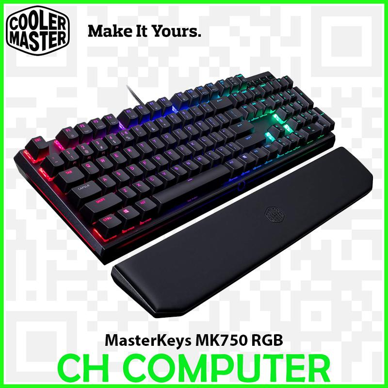 Cooler Master MasterKeys MK750 RGB LED Mechanical Gaming Keyboard - Cherry MX Red Singapore