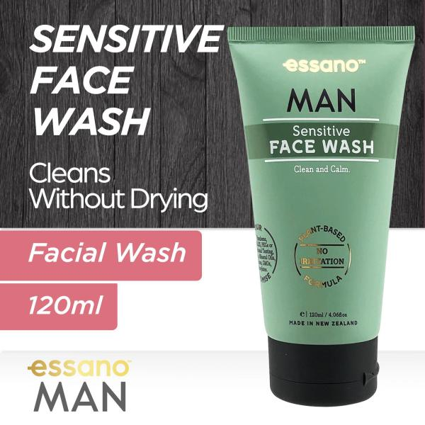 Buy Essano Man Face Wash Sensitive 120ml Singapore