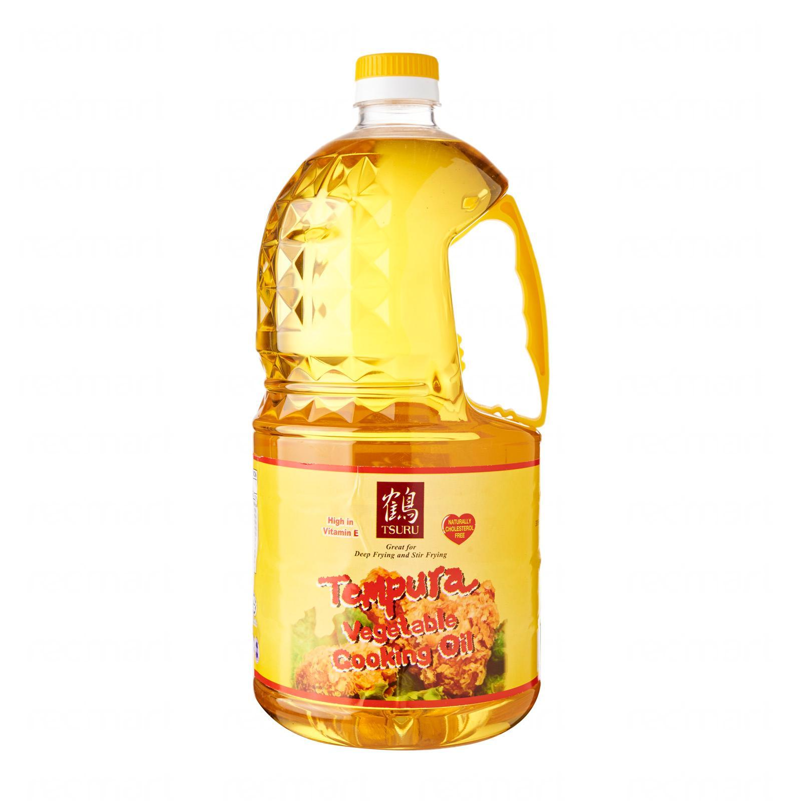 Tsuru Vegetable Cooking Oil 2l By Redmart.