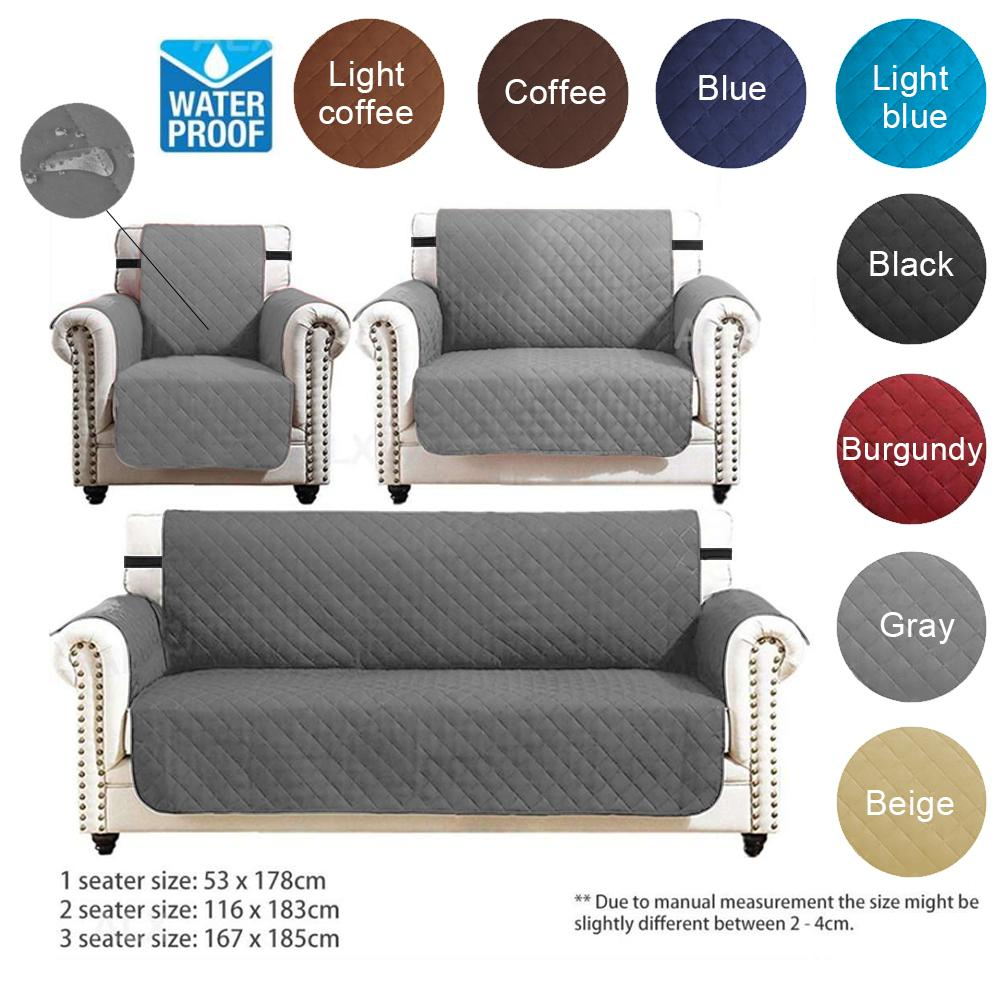 Sentexin 3 2 1 Seater Sofa Slipcovers, Professional Non Slip Quilted Pet Sofa Protector Cover, Wear Resistant and Waterproof Furniture Protector