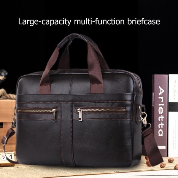 Men Laptop Handbags Bussiness Shoulder Crossbody Messenger Briefcase