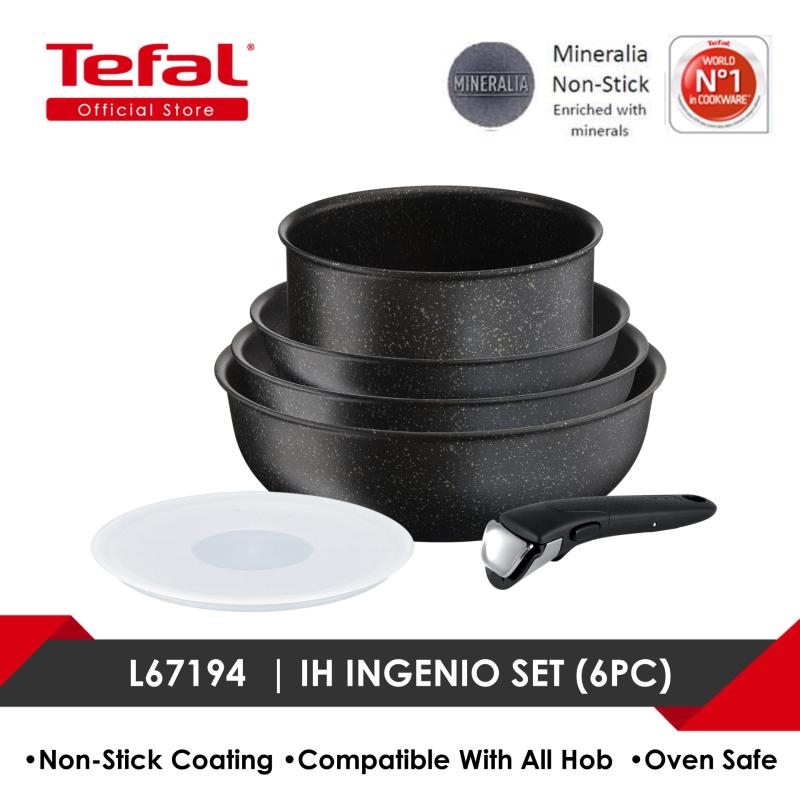 Tefal L67194  Ingenio Authentic 6pc Set (IH) Singapore