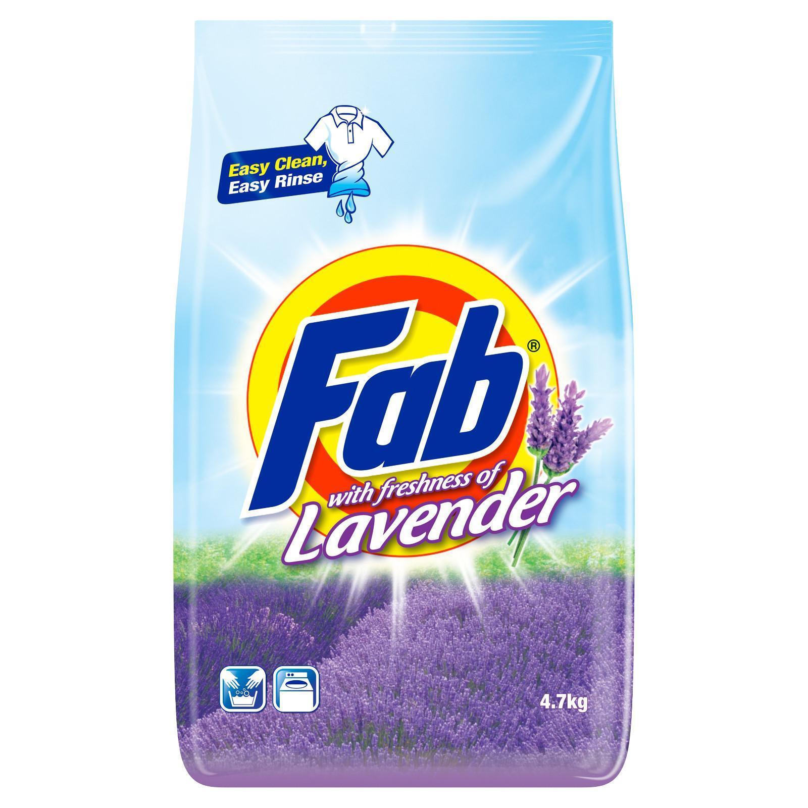 FAB Laundry Powder - Freshness of Lavender 4.7kg