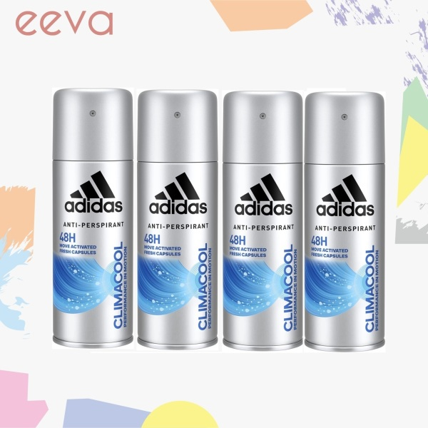Buy Adidas Body Spray Clima Cool for Men 4x150ml Singapore