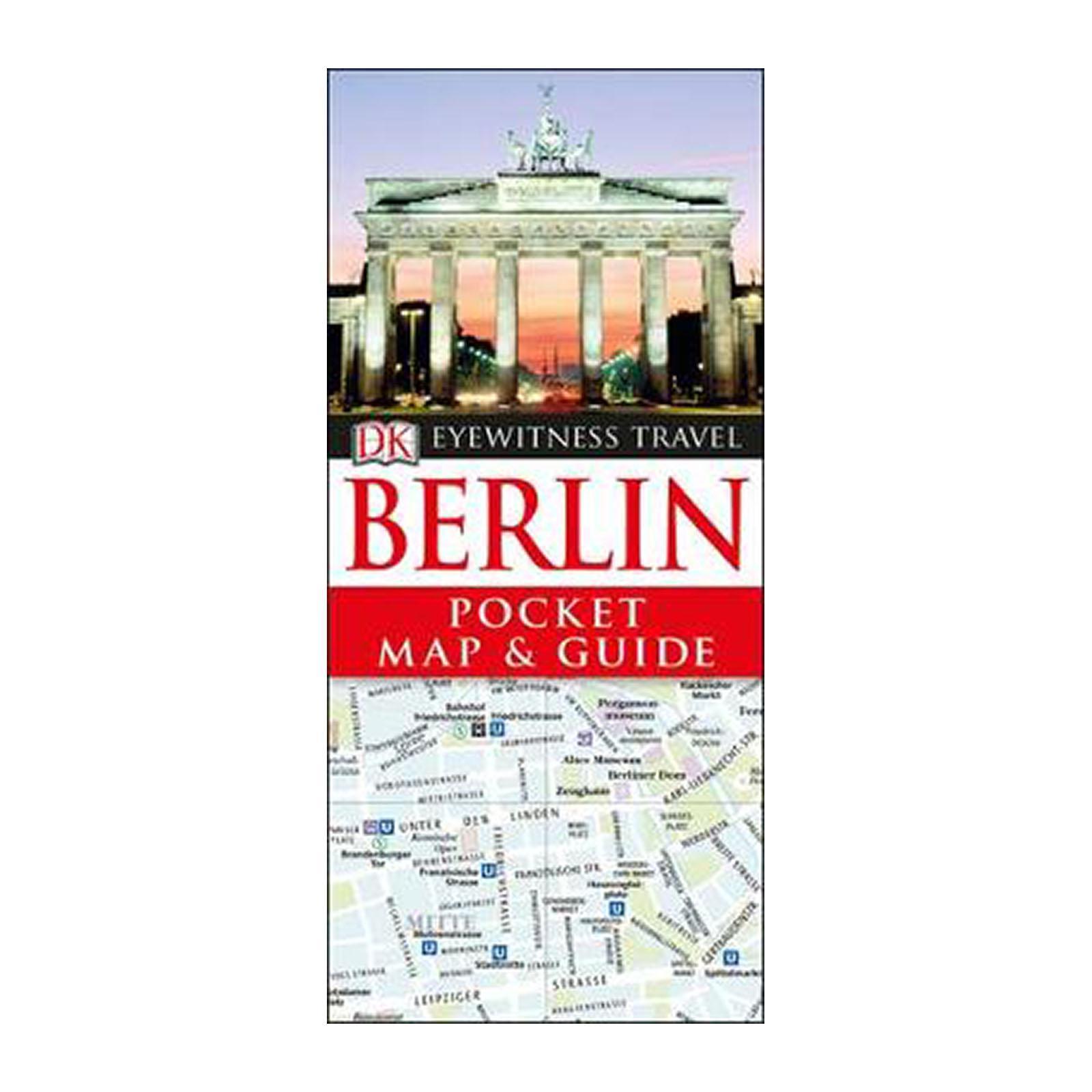 Dk Eyewitness Pocket Map And Guide: Berlin (Paperback)