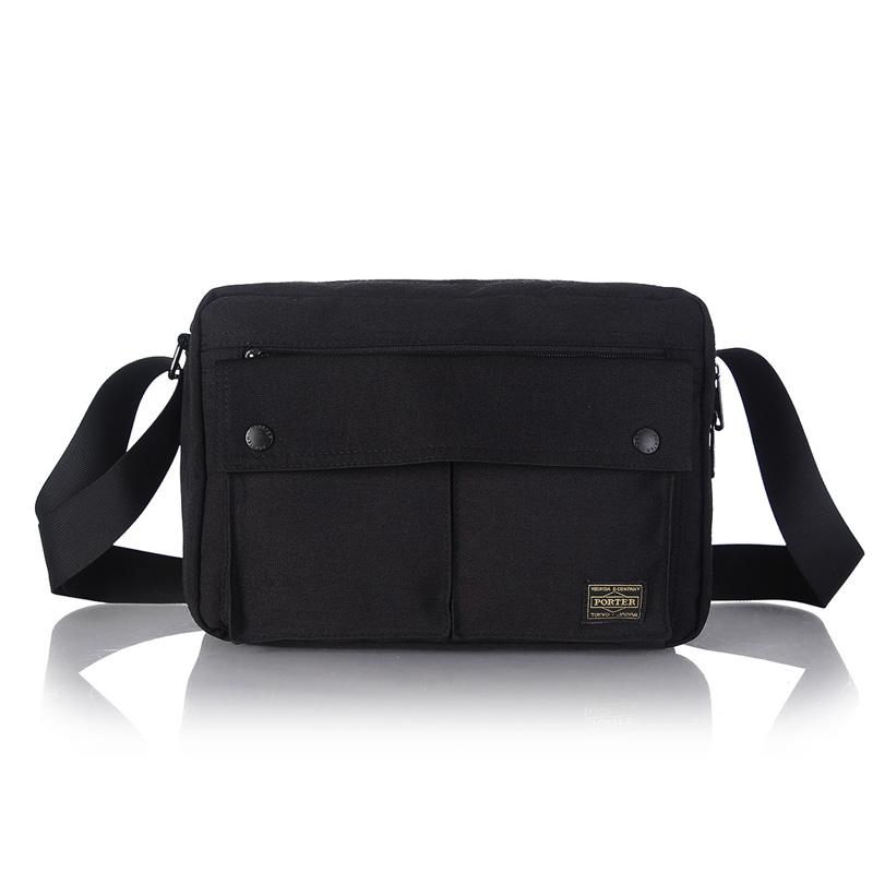 462801cf1f Yoshida Head Porter Men One-Shoulder Pannier Bag Tablet IPAD Package Trend Shoulder  Bag Waterproof